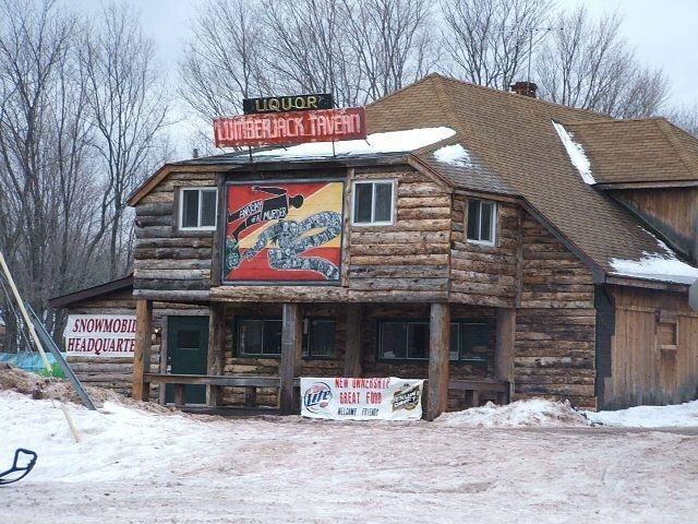 Upper Michigan bar located in Big Bay.