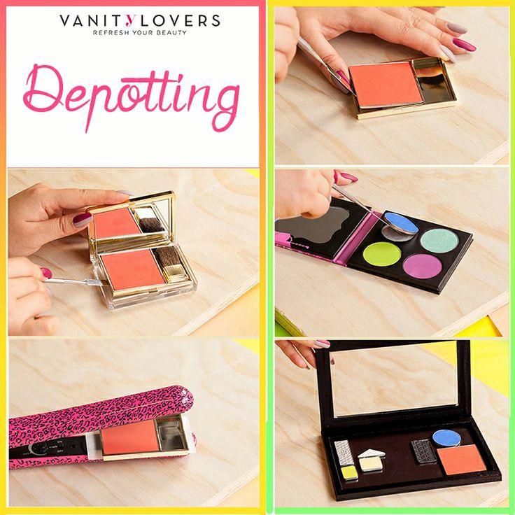 Organizza il tuo makeup depottando i tuoi prodotti preferiti. Ecco come si fa!  http://www.vanitylovers.com/brands/zpalette.html?utm_source=pinterest.com&utm_medium=post&utm_content=zpalette&utm_campaign=pin-vanity