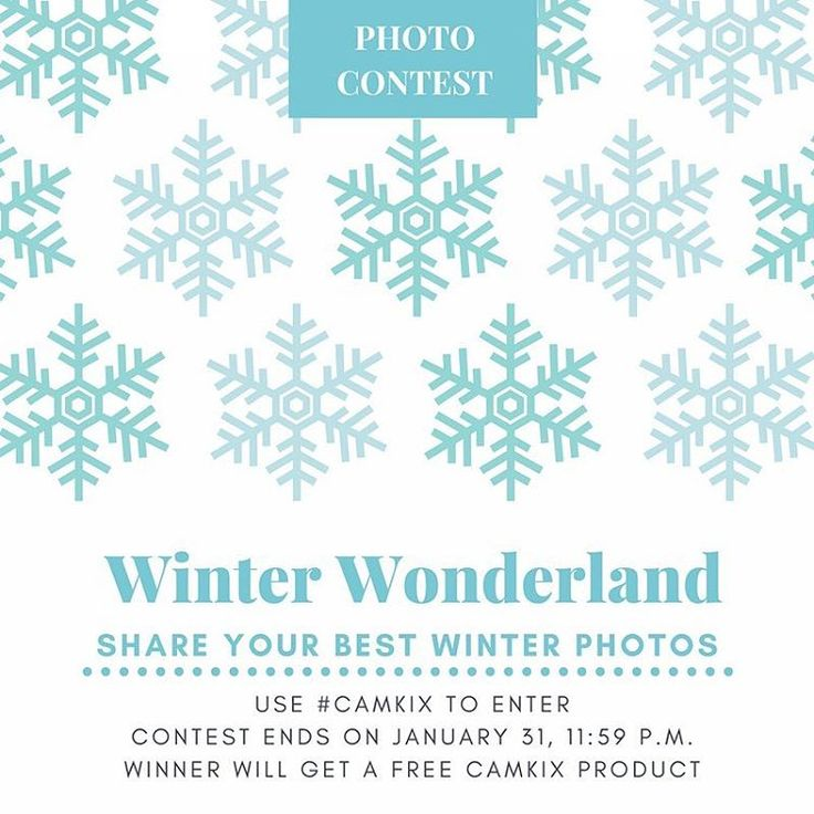 Our December photo contest has ended and we will be announcing the winner soon, but our January photo contest has just begun! Get those entries in for a chance to win a free CamKix product! . . . . #camkix #january #photocontest #giveaways #contest #fun #winter #wintertime