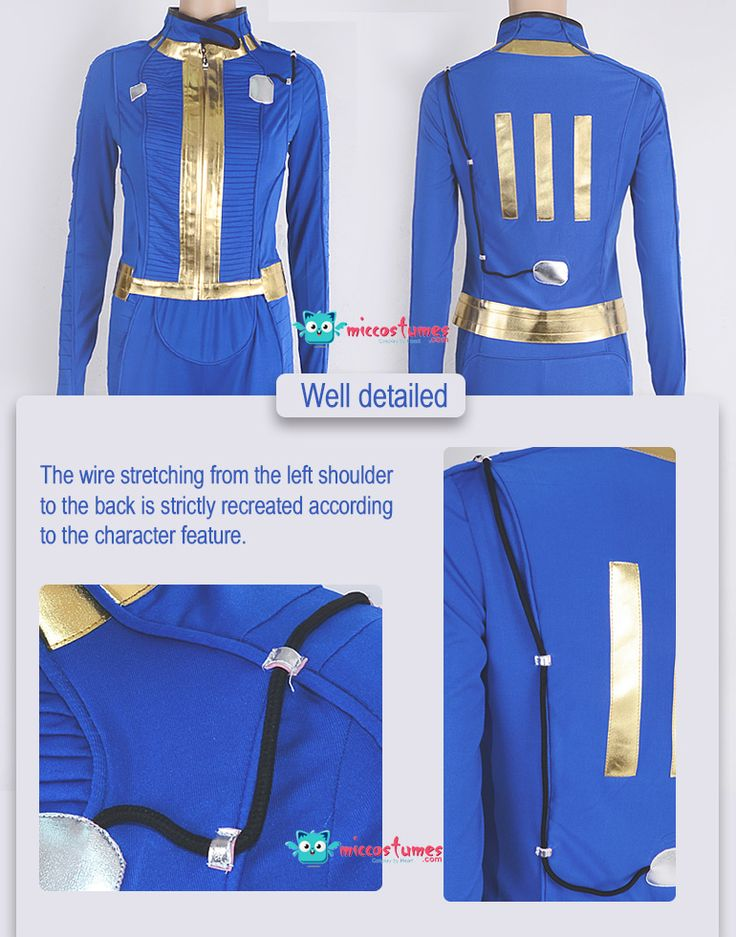 Fallout 4 Sole Survivor Nora Cosplay Costume For Sale
