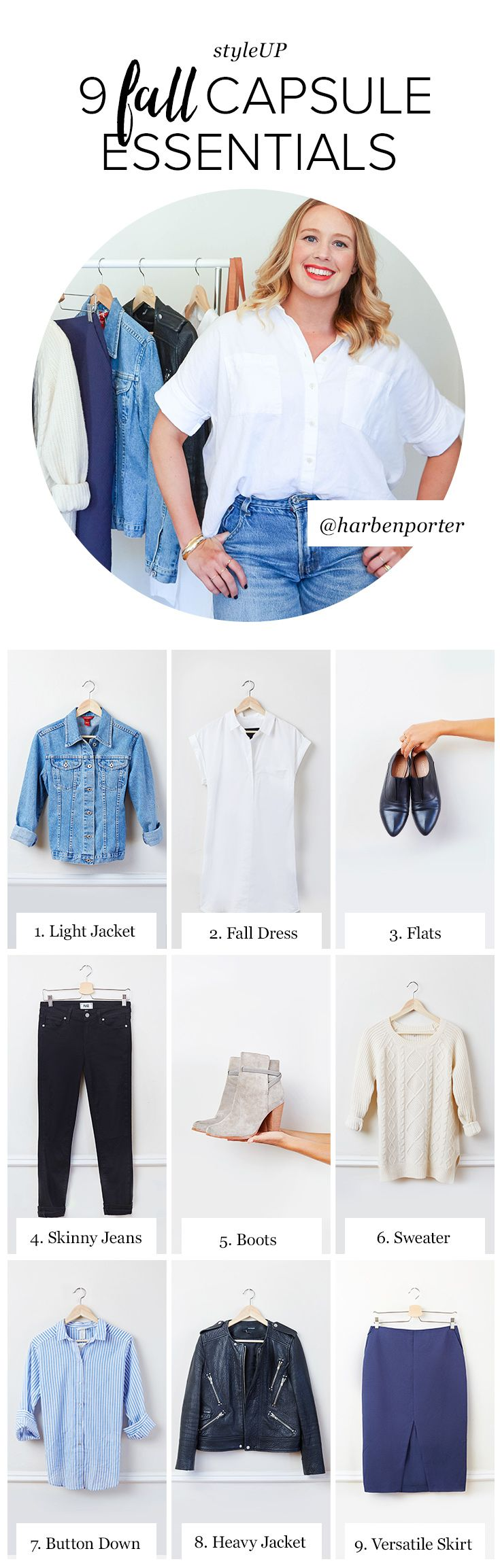 Just how far can one capsule wardrobe go? We put it to the test. 9 fall essentials. 9 ways. And we're just getting started. At thredUP, you'll find high-quality secondhand clothes from brands like Madewell, Anthropologie, Ann Taylor, and more at up to 90% off. That means you can build your dream closet without going over budget. So, what are you shopping for this fall? Sign up and start shopping today!