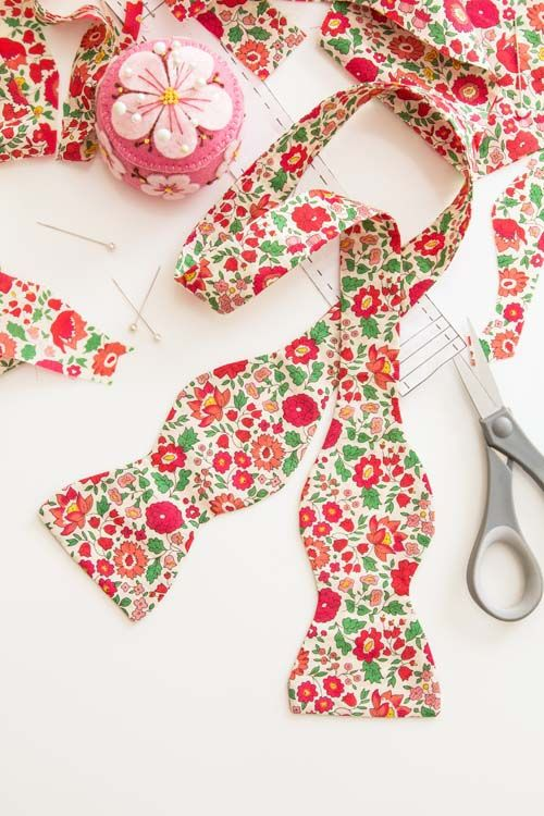 Custom Bow Tie DIY