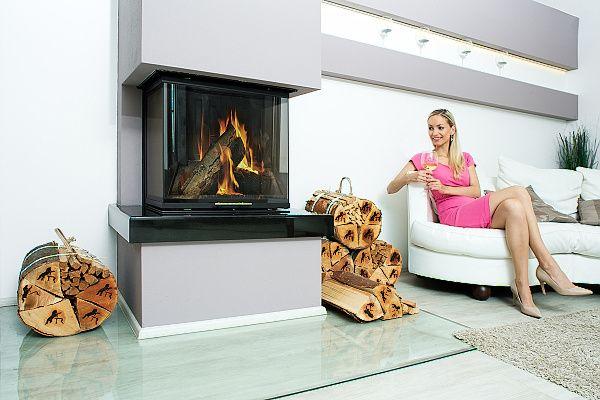 Luxusní suché krbové dřevo - kvalitní teplo domova