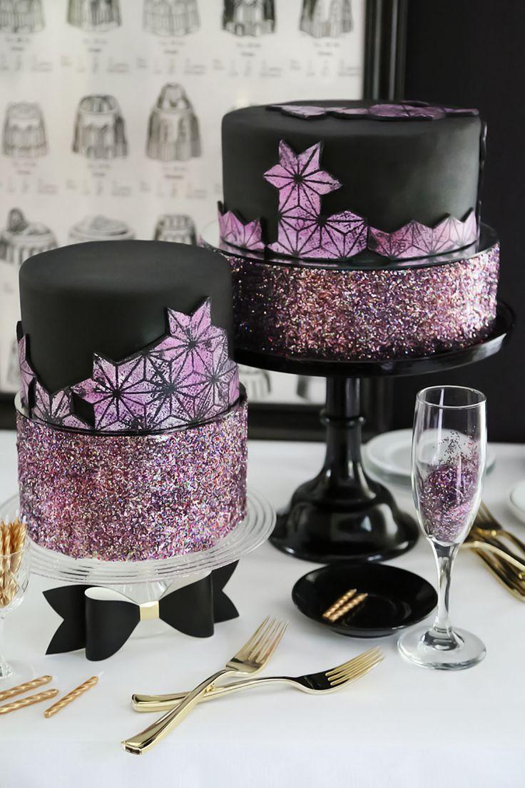 French Vanilla Glitterati Cake | Sprinkle Bakes