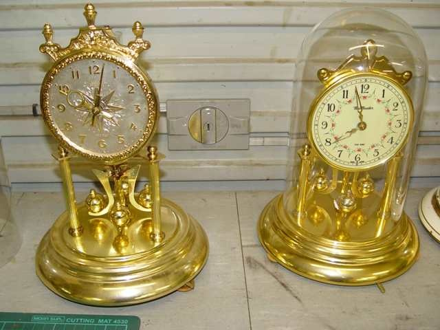 dome anniversary clocks made in germany