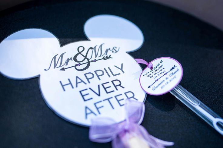 Sooo proud of my handmade mickey  programmes!! And my bubbles for them to blow... #disneyinspiredwedding