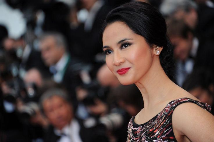 Indonesian actress Maudy Koesnadi arrives on May 19, 2013 for the screening of the film 'Inside Llewyn Davis' presented in Competition at the 66th edition of the Cannes Film Festival in Cannes. Cannes, one of the world's top film festivals, opened on May 15 and will climax on May 26 with awards selected by a jury headed this year by Hollywood legend Steven Spielberg.