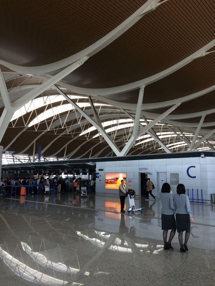 Shanghai Pudong Airport, Terminal 2, 2015