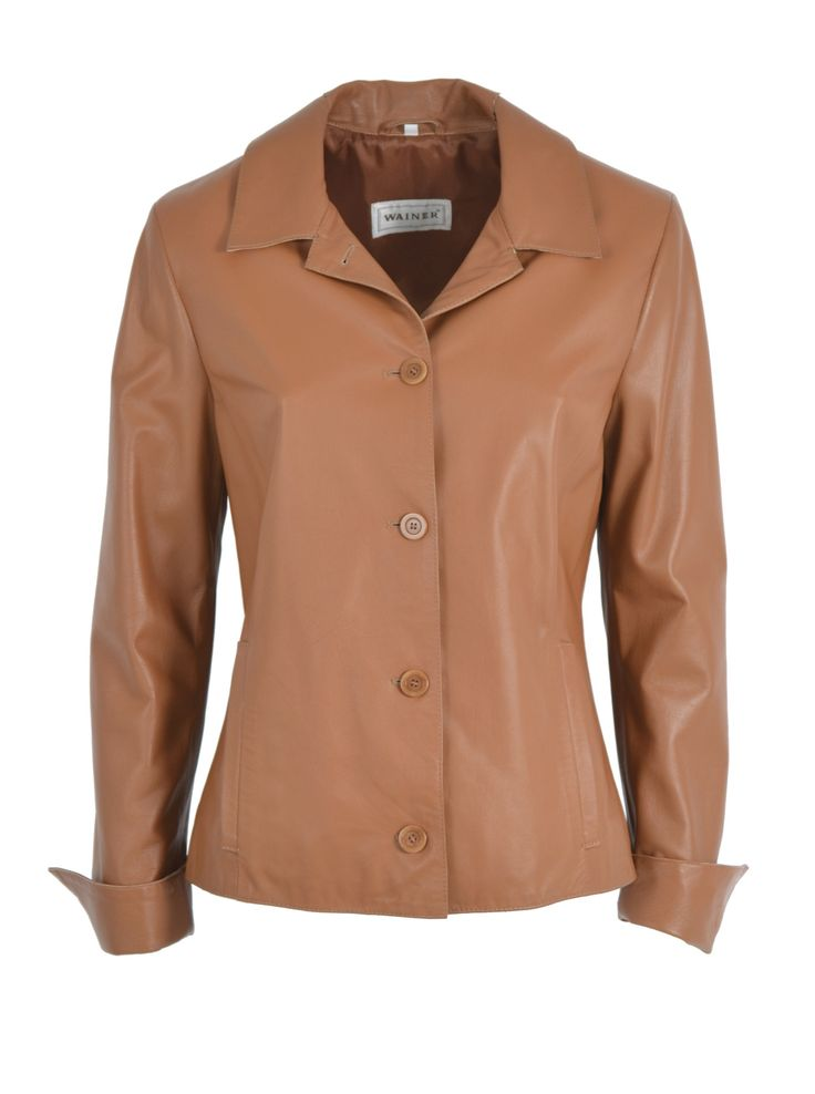 Leather jacket art 123511 Giacca blazer pelle