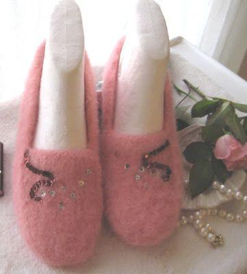 .: Opskrift til filtede moccasiner