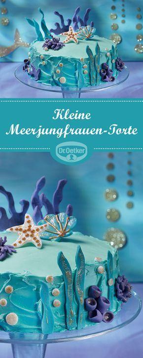 Kleine Meerjungfrauen-Torte