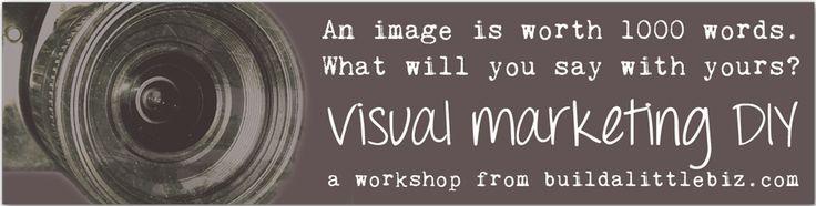 build a little biz | visual marketing DIY