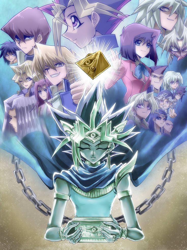 Yugioh fan art by Meyly on zerochan - This is wonderfully done.