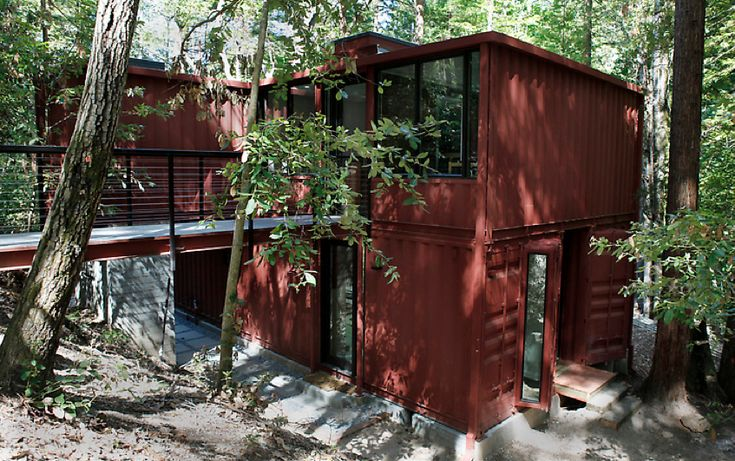I want one. Love container cabins.