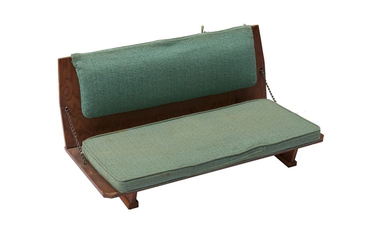Frank Lloyd Wright Folding Seat Bench | From a unique collection of antique and modern benches at http://www.1stdibs.com/furniture/seating/benches/