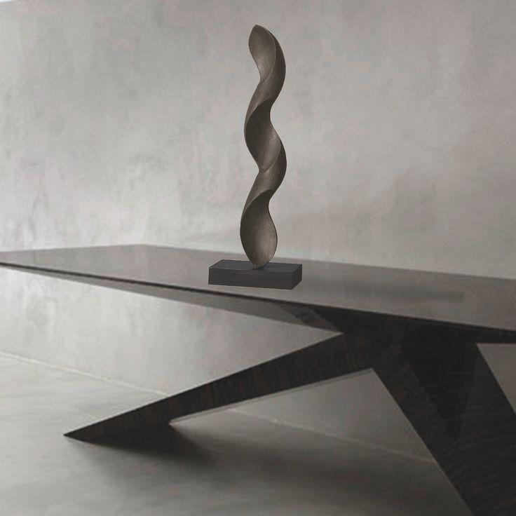 Sculpture Spiral by David Kounovsky   #sculpture #art #design