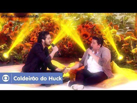 Luan Santana canta Trem Bala com Ana Viela a pedido de Luciano Huck https://youtu.be/jiioyRz6p4E