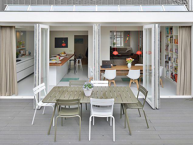Uitbouw Keuken En Living : aanbouw tuin Pinterest