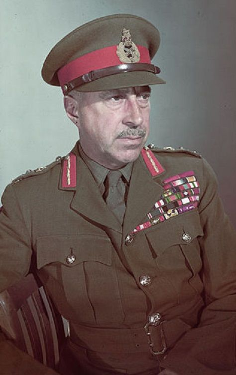 "Allied leaders - Henry Duncan Graham ""Harry"" Crerar (April 28, 1888 – April 1, 1965) was a Canadian general and the country's ""leading field commander"" in World War II. He became General Officer Commanding 2nd Canadian Infantry Division in England in 1941, General Officer Commanding I Canadian Corps in England and then Italy in 1942 and General Officer Commanding First Canadian Army in North-West Europe in 1944."