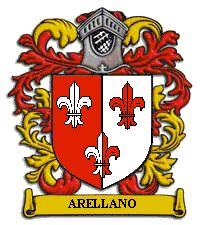 Arellano family crest