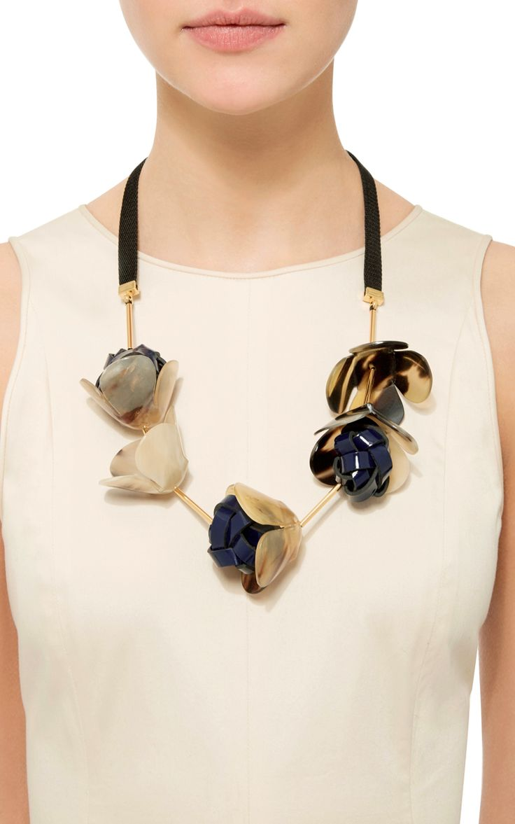 Flower Horn Necklace by Marni - Moda Operandi