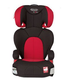 Graco Logico L Highback Booster Car Seat - Chilli. http://www.parentideal.co.uk/mothercare---car-seat.html