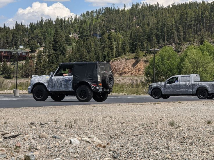Spied 2021 Ford Bronco and F150 Hagerty Media in 2020