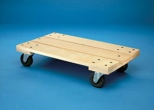 Platform Dolly - Wooden Dollies, Moving Dollies, , Casters, Furniture Dollies. what to make with scraps of wood and carpet