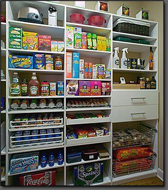 212 Best Home Ideas: Pantry Images On Pinterest | Kitchen, Kitchen  Organisation And Kitchen Storage
