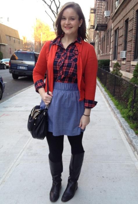 cute plaid shirt outfit   wear   Pinterest