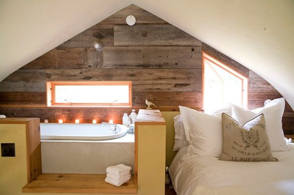shed built Design For The Romantic: Bathtubs In The Bedroom