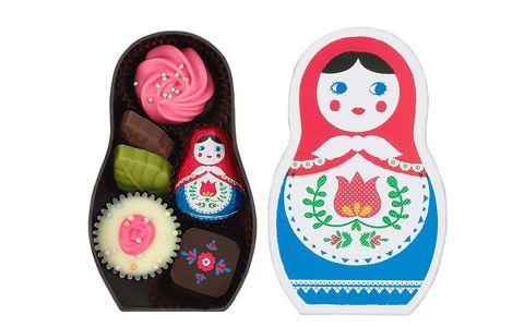 ロシア人形風チョコレート、ショコラーシカ[1/2ページ]| ウーマンエキサイト コラム