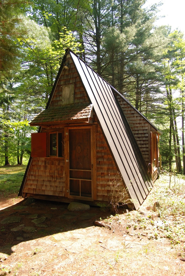 7 best a frame additions images on pinterest wood cabins for A frame log homes