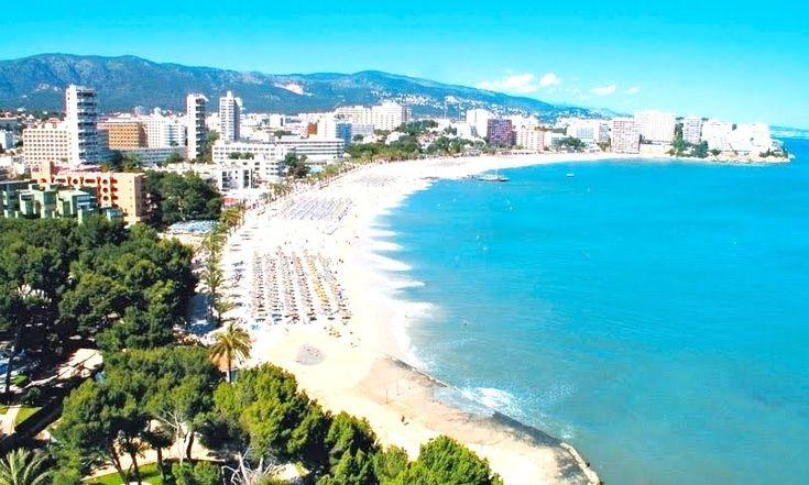 Magaluf es una localidad turística española situada en el término municipal de Calviá, en la isla de Mallorca .