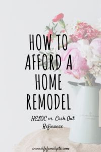 Wondering how you can pay for a home remodel? Check out this article for the simplest method to compare a home equity line of credit vs. cash out refinance. HELOC