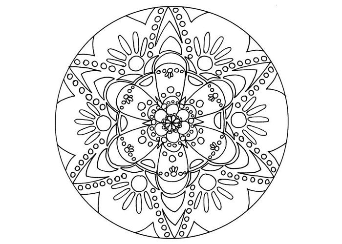 35 best colouring pages for grown ups images on pinterest ... - Coloring Pages Mandalas Printable