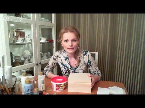 9 - СМ - Наталья Родина - Декупаж с весенним флером - YouTube