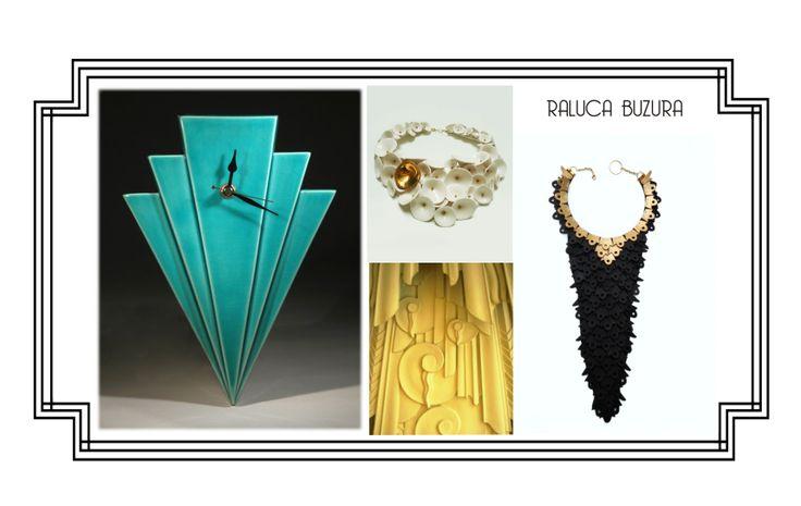 Raluca Buzura ceramics necklaces