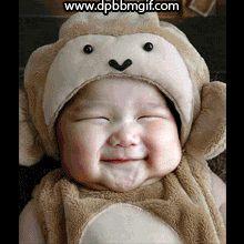 animasi gif dp bbm bayi lucu