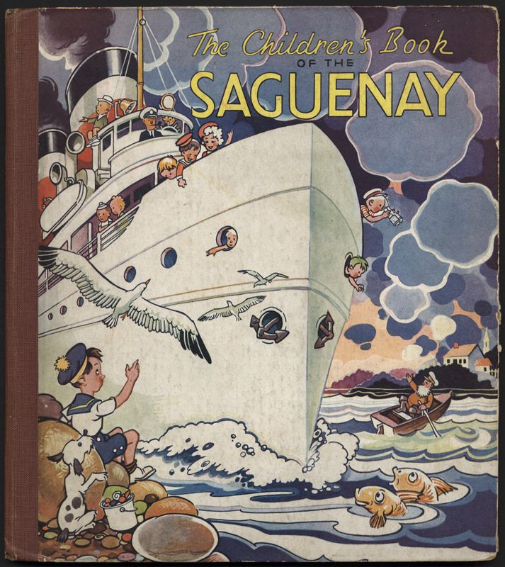 The children's book of the Saguenay - Front cover