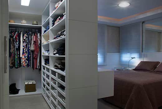 Como posso integrar um guarda-roupa no meu quarto?   – Schlafzimmer