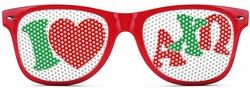 Alpha Chi Omega Wayfarer Style Lens Sunglasses SALE $12.95. - Greek Clothing and Merchandise - Greek Gear®