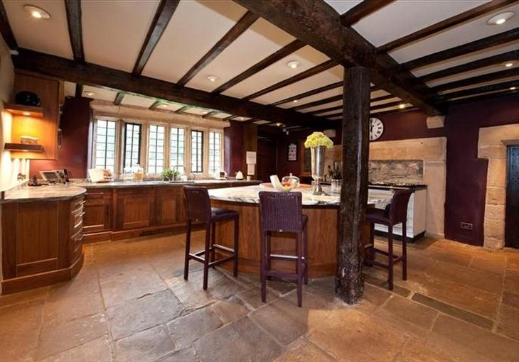 Kitchen at swinsty hall fewston for Perfect kitchen harrogate