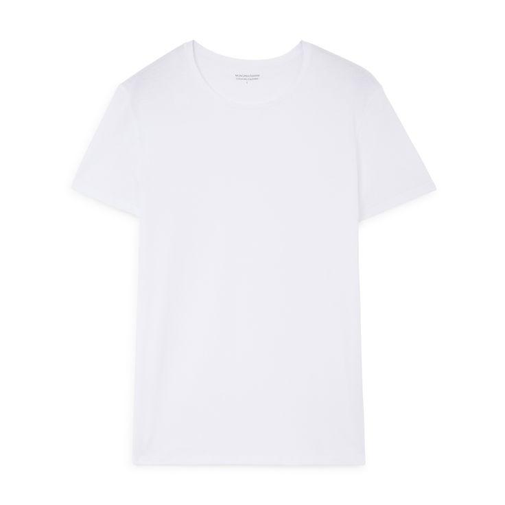 T-shirt col rond en coton issu de l'agriculture biologique