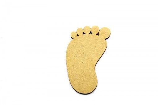 3mm Baby foot blank craft shape http://www.lornajayne.co.uk/