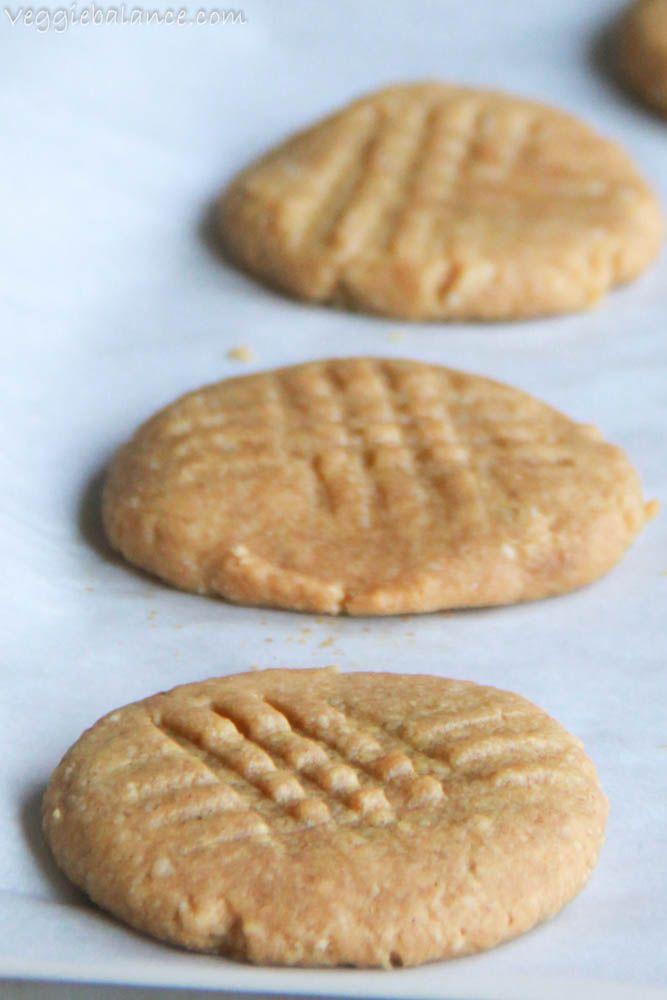 Gluten Free Healthy Skinny Peanut Butter Cookies