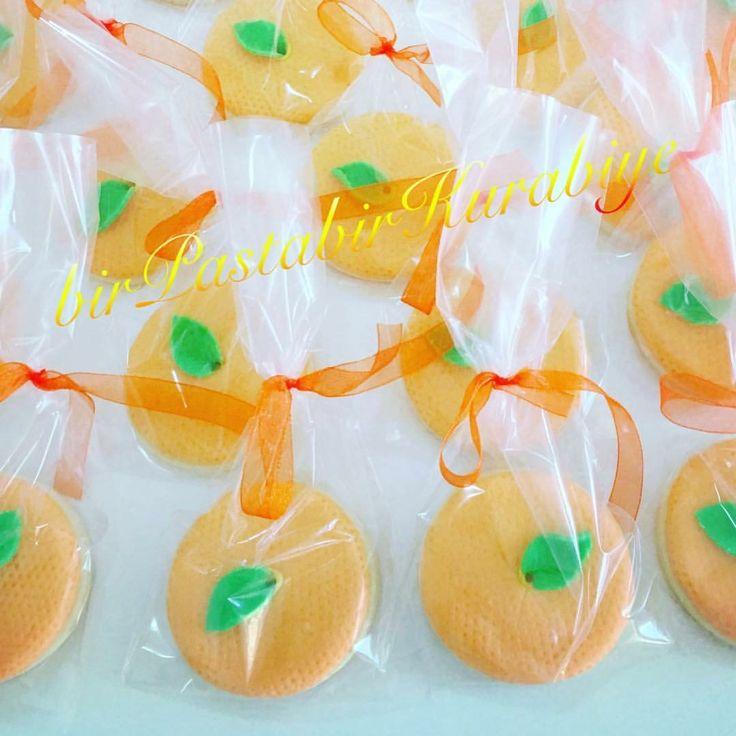 Mandarin biscuits