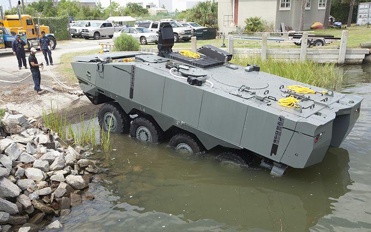 ACV/Terrex 2 buatan SAIC Singapura untuk Korps Marinir Amerika Serikat.