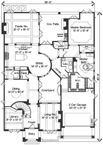 Plan House design