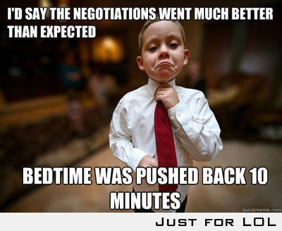 The Negotiations went much better than Expected.: Like A Boss, Funny Shit, My Sons, Funny Pictures, Texts Back, Funny Stuff, Even, Kid, Likeaboss